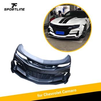 PP Front Bumper With Lip For Chevrolet Camaro 2016 - 2018 Front Bumper Lip Spoiler Body Kits