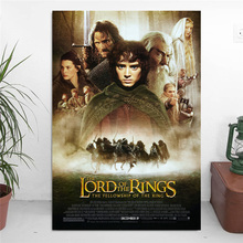 Lord Of The Rings Fellowship Canvas Painting Prints Bedroom Home Decoration Modern Wall HD Art Oil Posters Artwork