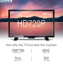 Con Las Torres 24HME5000CP64 24 pulgadas HD LED de Pantalla Plana de TV Ahorro de energía Eyecare Apariencia Estrecho Borde Delgado Soporte Caja de la TV