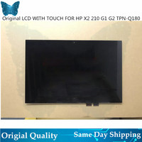 Original New LCD Display For HP Pavilion x2 210 G2 G1 Lcd Screen With Digitizer Touch Screen Assembly B101EAN01.8