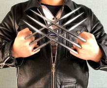 Wolverine Claws For Adlut Children's Version Hard Plastic Weapons Cosplay The Props Props Drop Ship