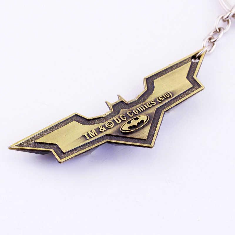 18 estilos DC joyería superhéroe Batman llavero Batman abrebotellas colgante Superman llavero cómic figura accesorios llavero