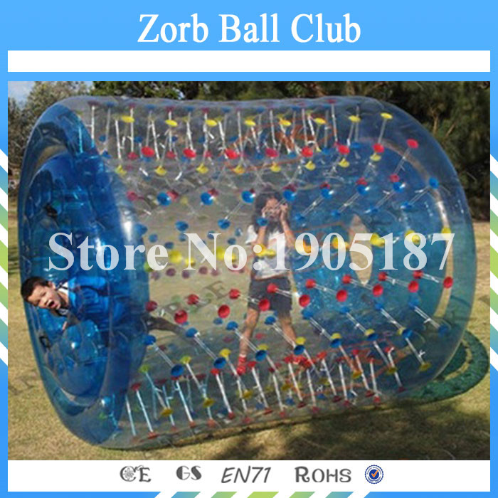 Free Shipping Inflatable Water Wheel Pool Inflatable Water Roller Water Roller Ball Inflatable Water Balls