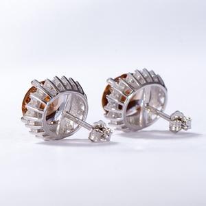 Image 5 - Kuololit zultanite宝石用原石のイヤリング固体925スターリングシルバー作成色変更diasporeソーダ石イヤリング