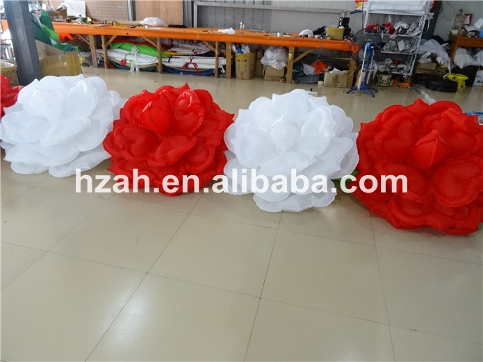 Wedding Decoration Inflatable Rose Flower Chain with - Furniture - Photo 4