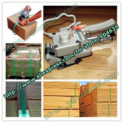 Скидка! Китай Заводская цена XQD-19 пневматический пластик/pp/pet сварки трением связывая инструмент, ПЭТ машина для обвязки для 13-19 мм
