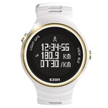 Ezon Deportes Al Aire Libre Para Smart GPS Relojes Corriendo Masculino Multifuncional Resistente Al Agua 5ATM Reloj Electrónico G1 Negro Rojo Wihte