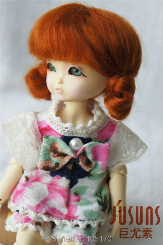1/8 BJD wig   Guyomi Mohair Wig   Lati Yellow doll accessories 5-6inch resin doll wigs