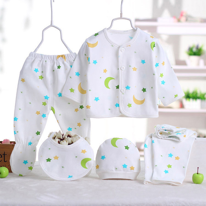 5pcs/set Newborn gift Baby Clothing Set for 0-3 M baby Brand Kids Clothes 100% Cotton Long Sleeve Baby Clothes Baby Underwear new original dvp04ad h2 plc analog module eh2 series 24vdc 4ai