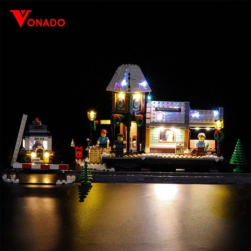 Led Light Set For Lego 10259 The Winter Village Set Compatible 36011 friend Genuine Creative Series