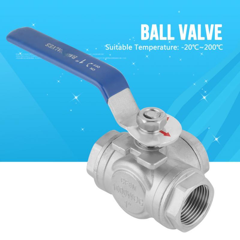 NEW reduced internal thread BSP Ball Valve 304 Stainless Steel 1000PSI Ball Valve