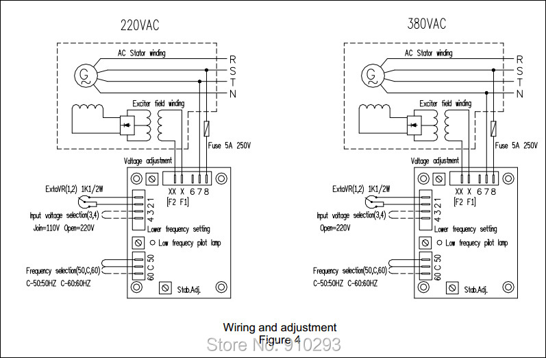 HTB17diQFVXXXXXvXpXXq6xXFXXXL avr sx460 for generator in voltage regulators stabilizers from leroy somer alternator wiring diagram at pacquiaovsvargaslive.co