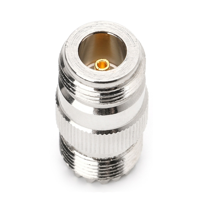 RF Coaxial Adapter UHF Female To N Female PL259 SO239 UHFTo N Jack Connector Connectors