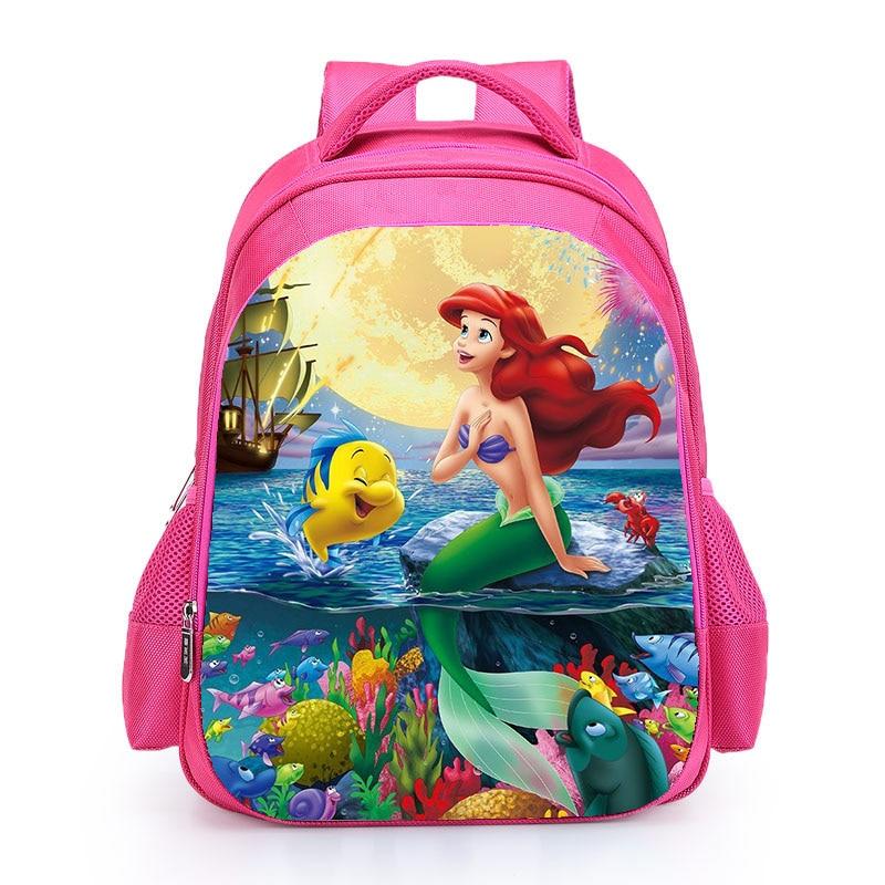 "Disney Princess Moana Little Girls Toddler Preschool Backpack BookBag 16/"" Kids"