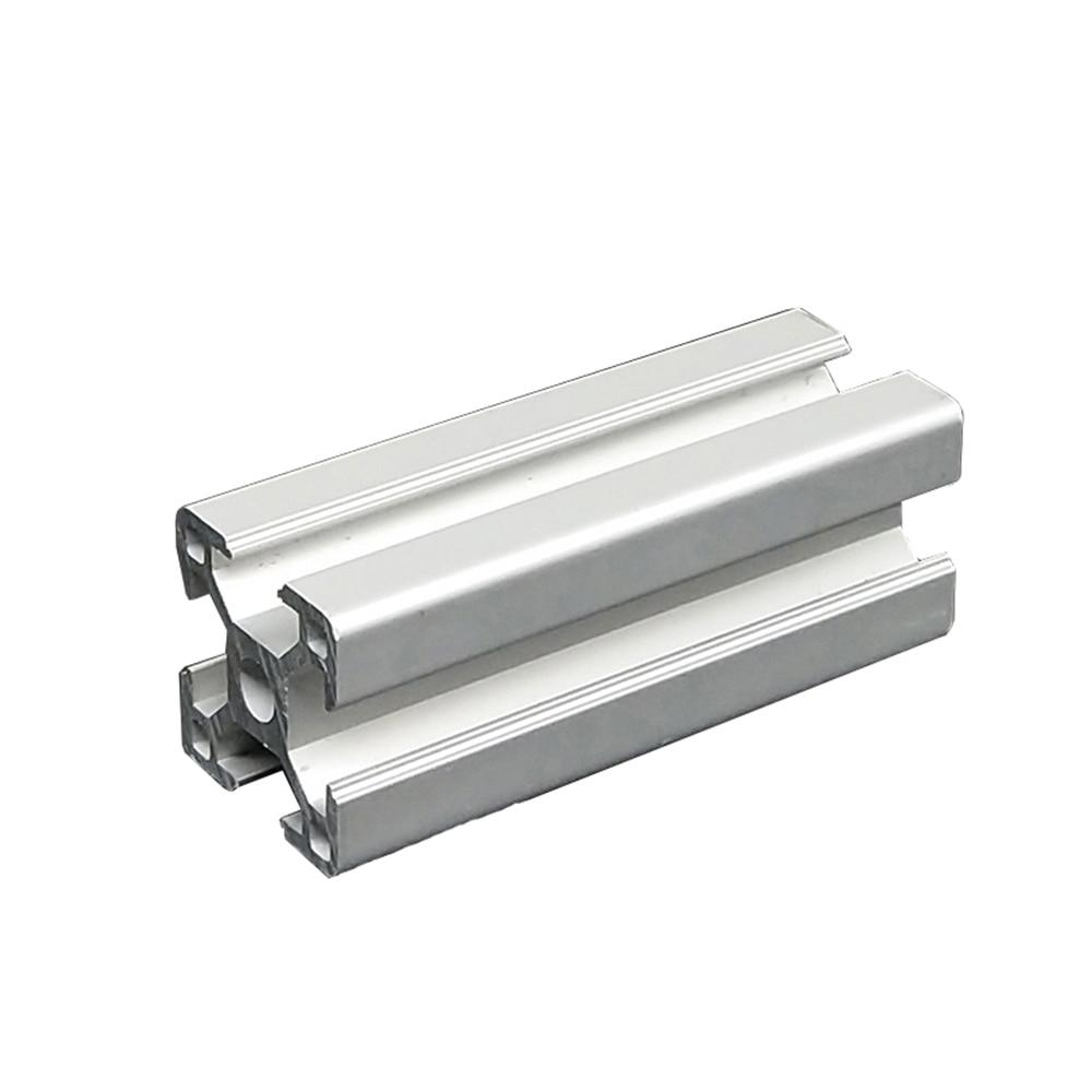 1 шт. алюминий экструзии 3030 линейный руководство 3d принтеры запчасти 550 мм до 800 для DIY ЧПУ верстак и полки