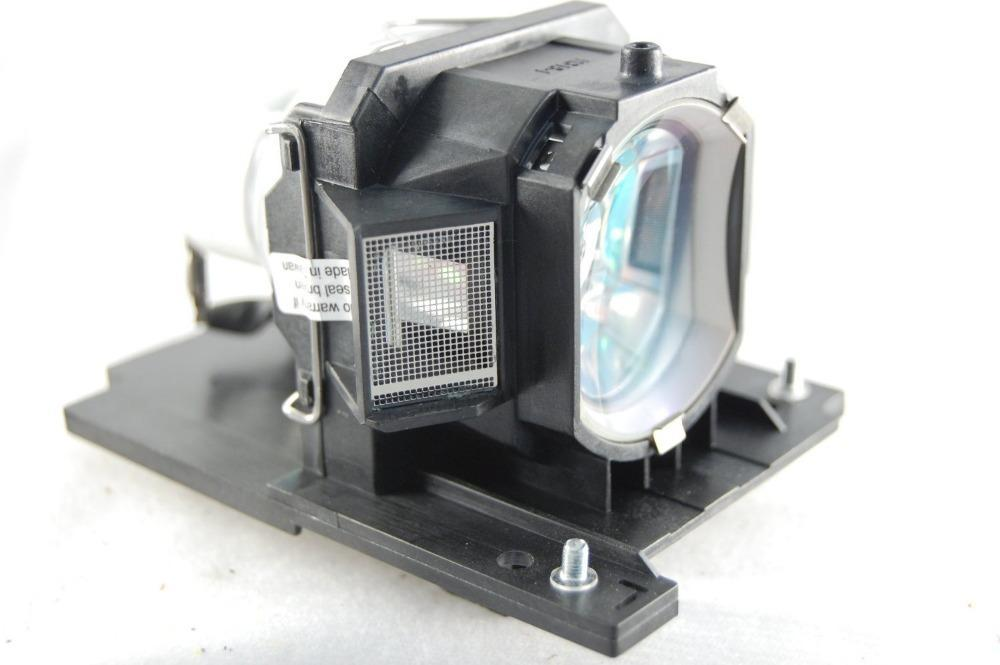 DT01021 for HITACHI CP-X2011N CP-X2010 CP-X2010N CP-X2510 CP-X2511N CP-X3011 CP-X3511 ED-X45 Projector Lamp Bulb WIth Housing