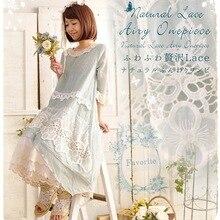 Милое Платье в стиле Mori Girl с оборками, свободное асимметричное платье в стиле хиппи, бохо, Мори, Ретро стиль, милое винтажное платье лолиты, женское Повседневное платье, туника