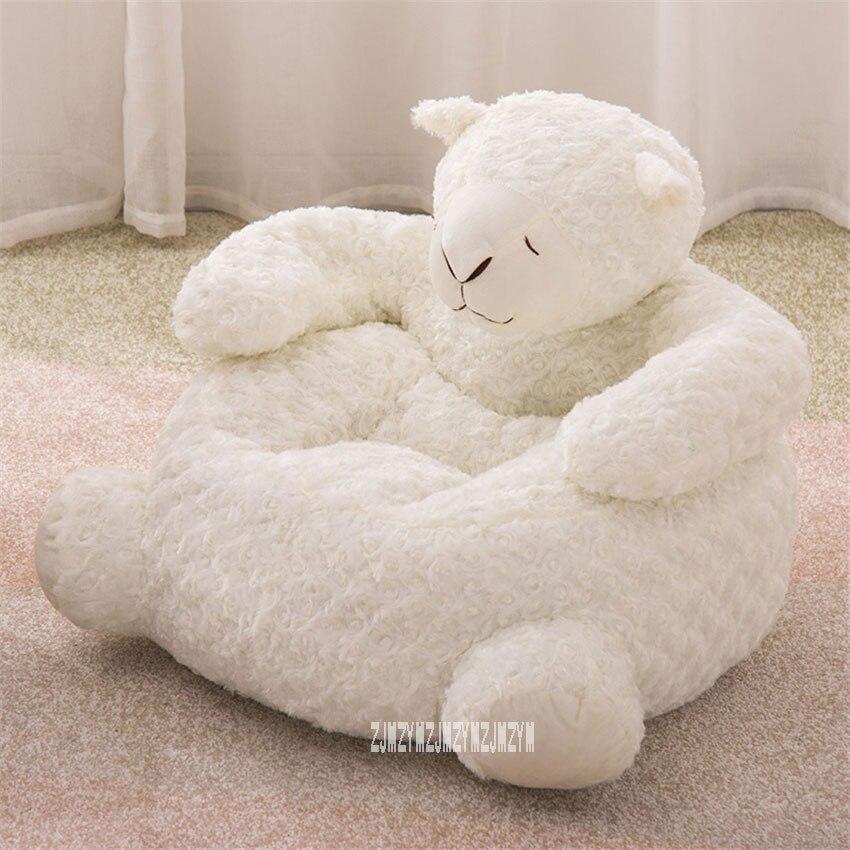 S709 coton remplissage mignon enfants canapé Portable enfant dessin animé jouet Animal canapé Mini Lion éléphant siège bébé fille haricot sac chaise