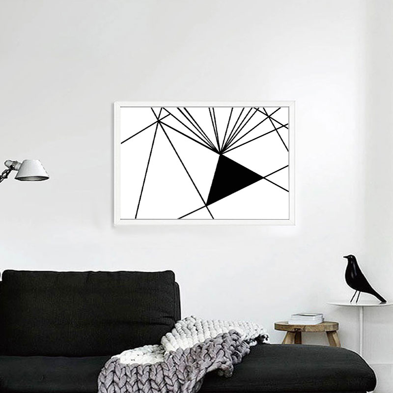 Graffiti Bedroom Art Paint Colors For Bedroom Youth Bedroom Sets Simple Little Boy Bedroom Ideas: Geometric Puzzle Graffiti Oil Painting Canvas Prints For