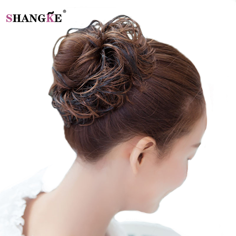 Shangke Short Curly Hair Tails Women Hairstyles Heat