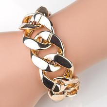 24pcs/lot Ladies Jewelry Punk Metal Bangle Bracelet Party Stage Outdoor Wrist Chain Curcle Design jb603
