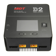 ISDT D2 200W 24A AC Dual Channel Output Smart Batteriladdare