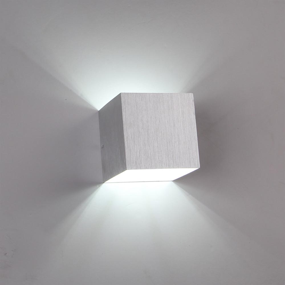 Solid Wall Lamp Led 3w Indoor Wall Light Aluminum Up Down: Lampada 3W LED Wall Lights Up And Down Light Wall Sconce