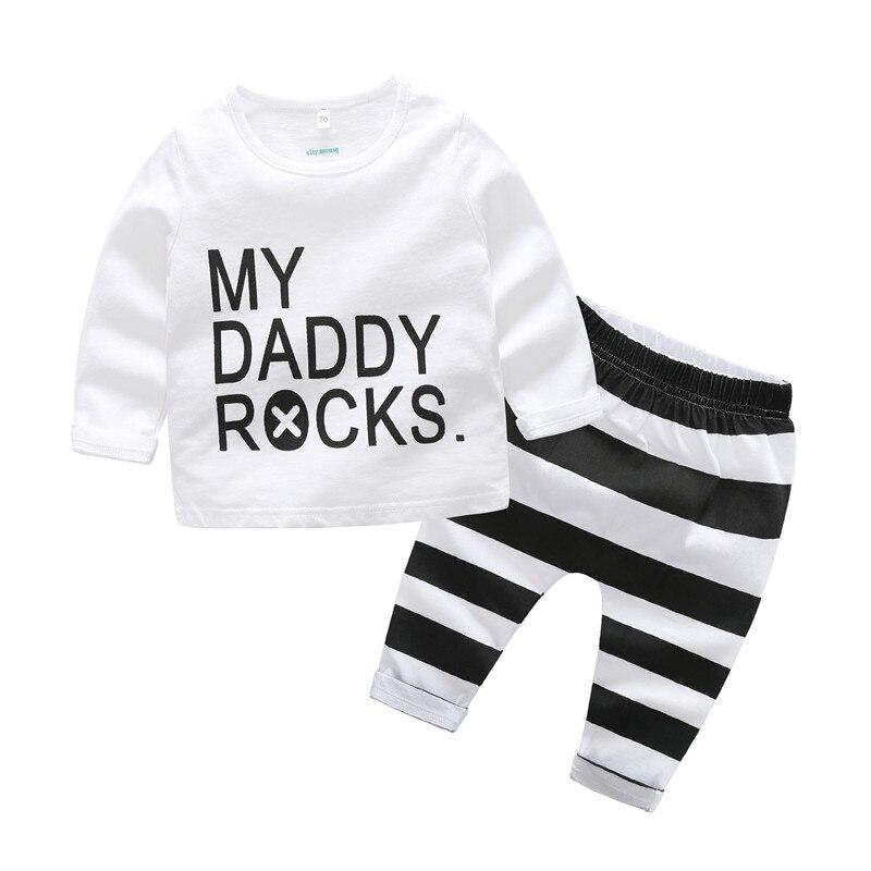 noworodek ubrania dla chłopca komplety bawełny dla niemowląt - Odzież dla niemowląt - Zdjęcie 2