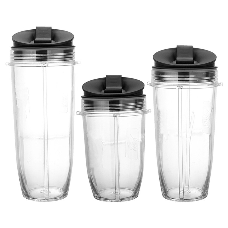 New Arrival 18 24 32oz Juicer Blender Extractor Water Bottle No Sip Seal Lids For Nutribullet