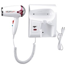 Profissional Wall Hair Dryer Thermostatic Electric hairdryer Blower hot/cold Mute KANGFU KF-3071 Use in Bathroom 1200W 220V