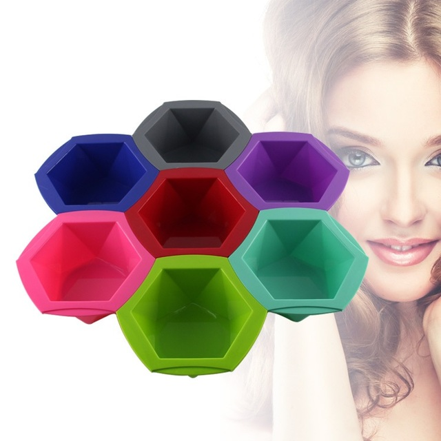Hair Color Mixing Bowl 7pcs Colors Sale for Human Hair Dye DIY Essential Oils Ingredients Complete