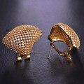 Blucome quadrado oco aaa + cz zircon brincos para as mulheres ródio banhado a ouro de cobre orelha acessórios nupcial do casamento joyas aretes