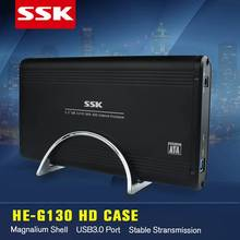 SSK SHE053 Aluminum USB 2.0 HDD Enclosure 3.5 inch SATA and IDE Drive Box HDD Docking Station OTB for 3.5″ SATA HDD and SSD