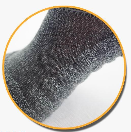 Image 4 - 10 pairs/lot mens invisible towel style cotton Socks stripe boat anti sliphigh qualtiy 2018 new big plus sizesock organizationboat sandalssock weight -