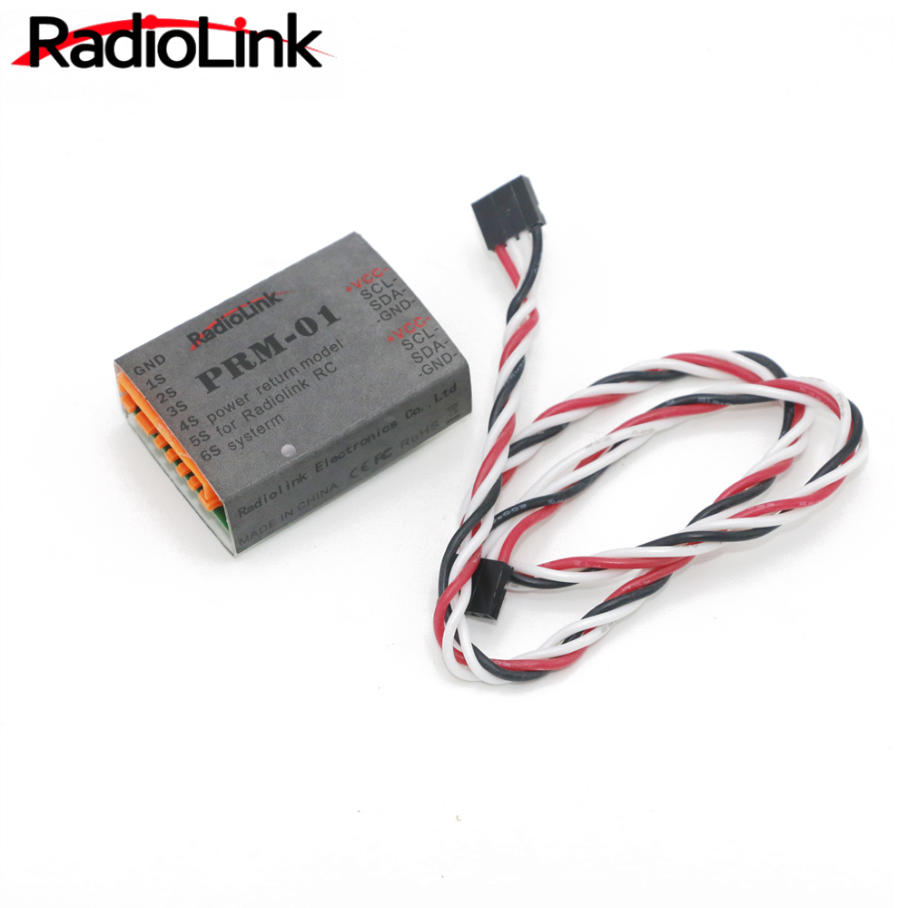 1pcs Radiolink Data Return Module PRM-01 Telemetry sensor for AT9 AT10 Transmitter Remote Control