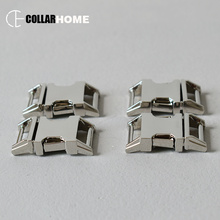 20pcs Strong metal buckle 15mm quick locking and release snap hook for DIY dog pet collar paracord accessories belt