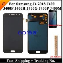 100% Test LCD Display Per Samsung J4 2018 J400 LCD J400F A CRISTALLI LIQUIDI Per Samsung J4 2018 J400F LCD Dello Schermo di Tocco digitizer Assembly