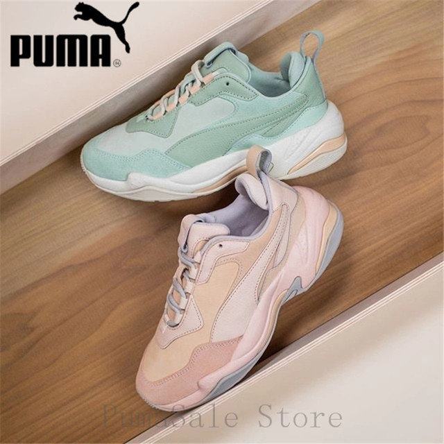 aba7a9c2f52d PUMA Women s Thunder Desert Sneakers 368024-01-02 Badminton Shoes Thunder  Spectra Wn s Retro Dad Shoes 35.5-39