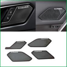 Voor Volkswagen Tiguan MK2 Lhd 2017 2018 Auto Interieur Audio Speaker Sound Cover Decorating Lijstwerk Cover Sticker Trim Decoratie