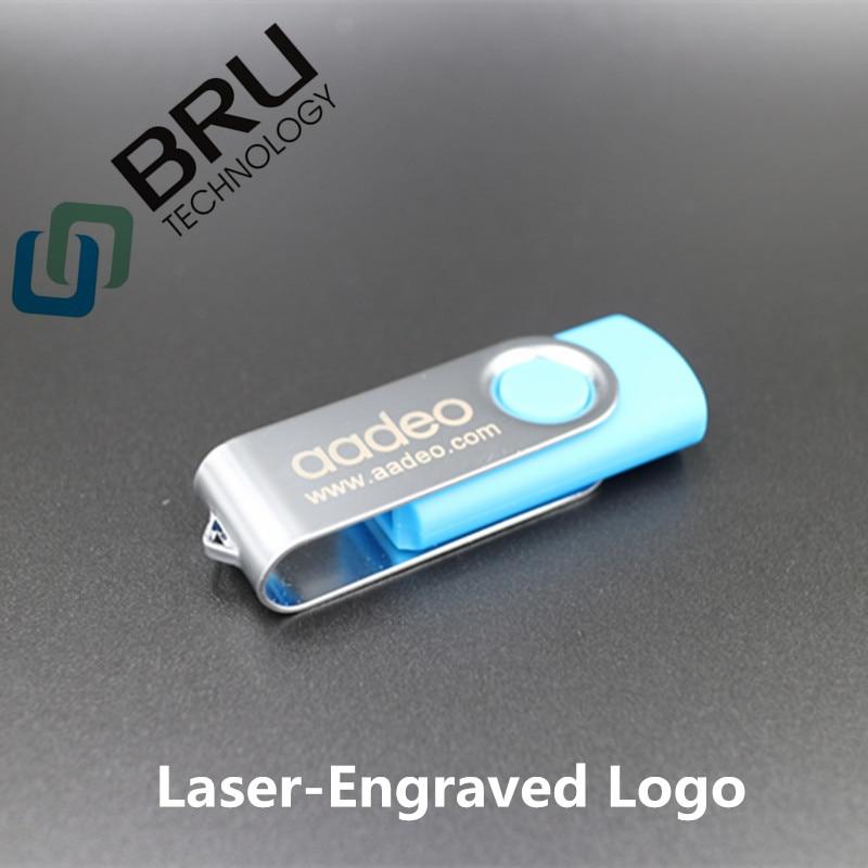 Lecteur flash USB BRU 32 Go 64 Go pour cadeau Logo personnalisé - Stockage externe - Photo 4