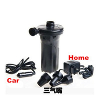 12V 220V Rechargeable Electric Air Pump Battery Inflatable Air Pump Inflate Reflate For Car Outdoor Mattress