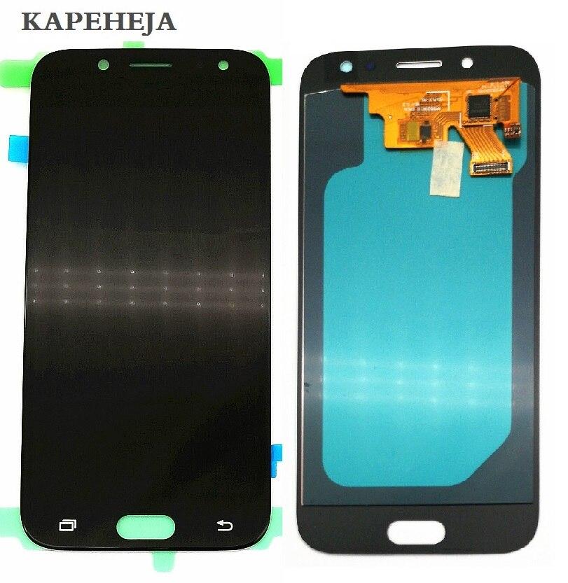 Super AMOLED Écran lcd Pour Samsung Galaxy J5 2017 J5 Pro J530 J530F LCD Affichage à L'écran Tactile Digitizer Assemblée