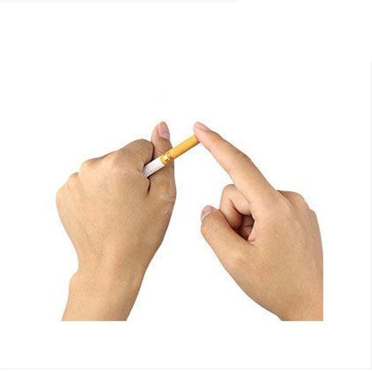 Beducht 1 Stks Sigaretten Verdwijnen Goocheltruc. Sigarettenrook Nep Effect Lit End. Street Magic Close Up Magic D22 Laatste Stijl
