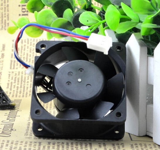 Nidec 60*60*25 12V 0.17A 6cm quiet power supply chassis / server fan B35572-58G