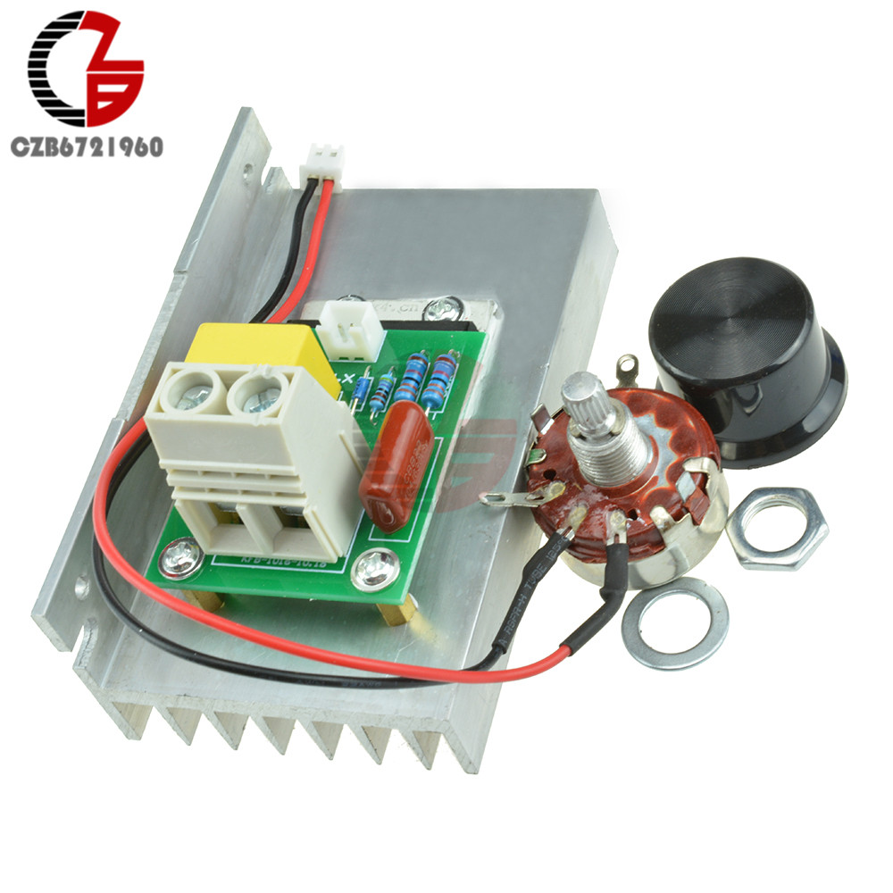10000W AC 220V SCR Voltage Regulator Motor Speed Controller Dimmer Thermostat CZ цена