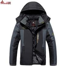 Sale UNCO&BOROR Size 5XL,6XL,7XL,8X,9XL winter jacket men outwear fleece thicken cotton-padded down parka coat men waterproof jacket