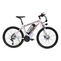 26 дюймов Электрический горный велосипед Алюминиевый сплав ebike 27 скорость e mtb 48 В в литиевая батарея 500 Вт мотор гибридный велосипед