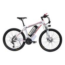 26 дюймов Электрический горный велосипед Алюминиевый сплав ebike 27 скорость e-mtb 48 В в литиевая батарея 500 Вт мотор гибридный велосипед
