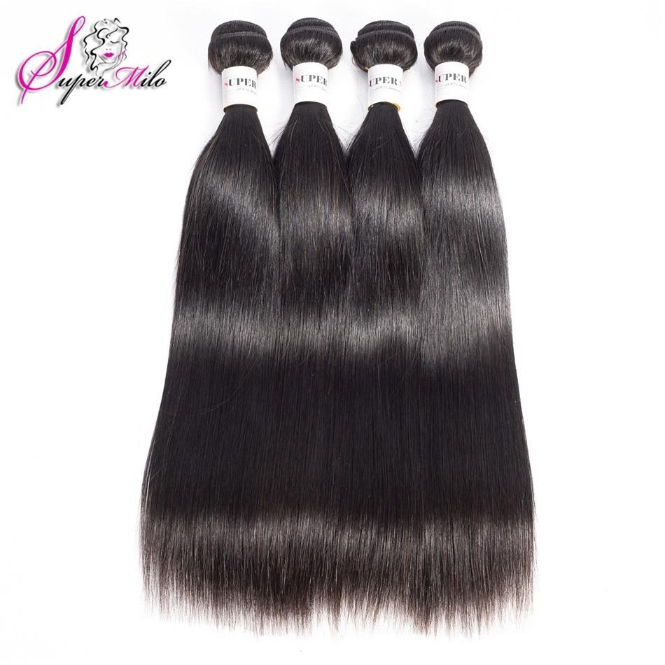 Супер мило прямые волосы пучки бразильские волосы плетение пучков 100% натуральные волосы пучки натуральный цвет remy наращивание волос 3 шт.