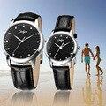 Amantes de relógios das mulheres dos homens de quartzo de couro assistir onlyou marca de moda meninos meninas meninos casual negócios masculino feminino relógios de pulso 8817